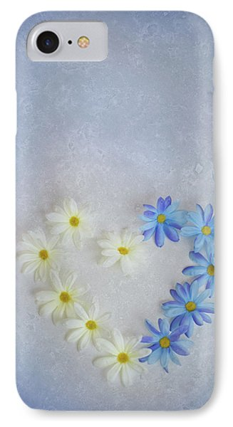 Heart And Flowers IPhone Case