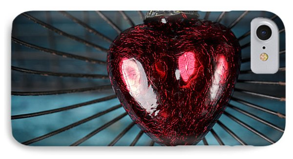 Heart In Cage IPhone Case