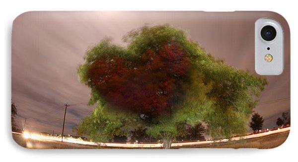 Heart Tree Scene IPhone Case