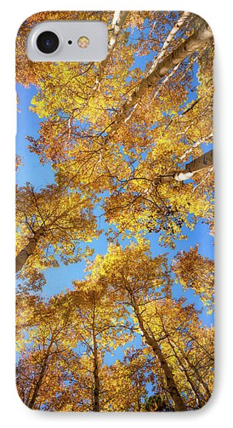 IPhone Case featuring the photograph Heavenly Aspens  by Saija Lehtonen