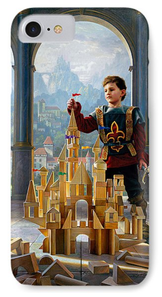 Castle iPhone 8 Case - Heir To The Kingdom by Greg Olsen