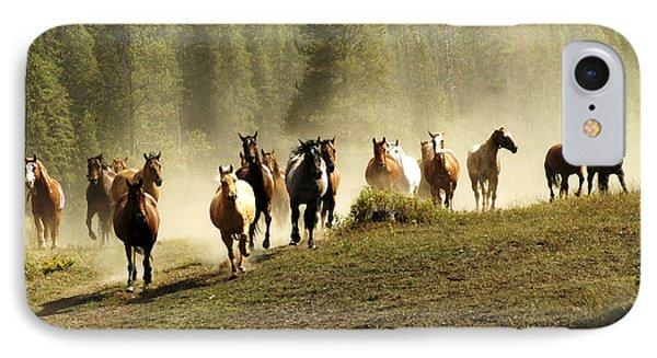 Herd Of Wild Horses IPhone Case