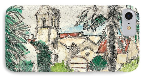 Herepian Village In Provence IPhone Case