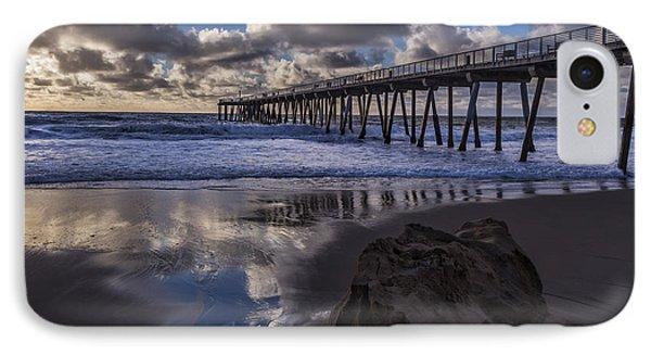 Hermosa Beach Pier IPhone Case