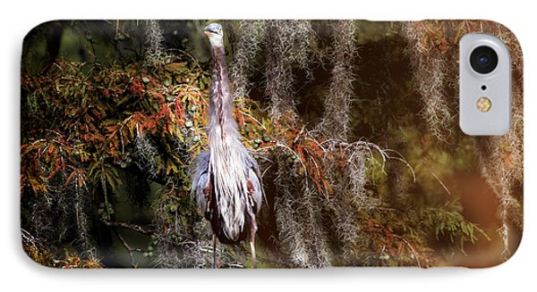Heron Camouflage IPhone Case