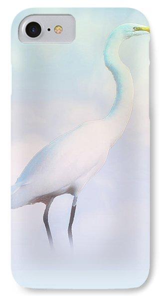 Heron Or Egret Stance IPhone Case