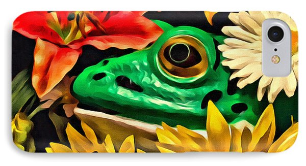 Hiding Frog IPhone Case