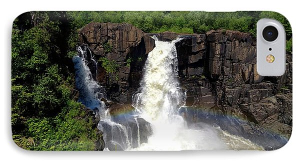 High Falls On Pigeon River IPhone Case