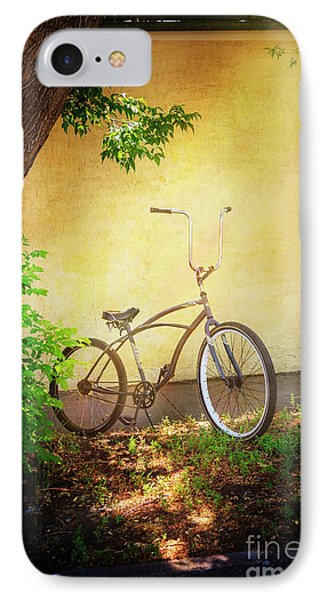 IPhone Case featuring the photograph High Handle-bar Bicycle by Craig J Satterlee