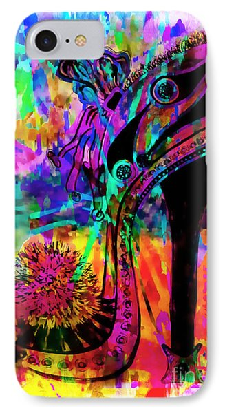 High Heel Heaven Abstract IPhone Case
