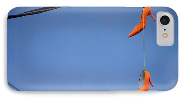 High On Orange IPhone Case