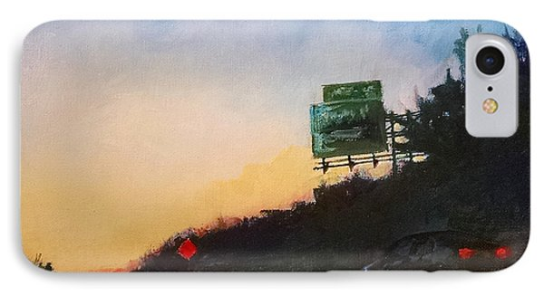 Highway At Dusk No. 1 IPhone Case