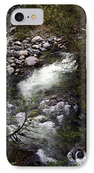 Hiking Wallace Falls#1 IPhone Case