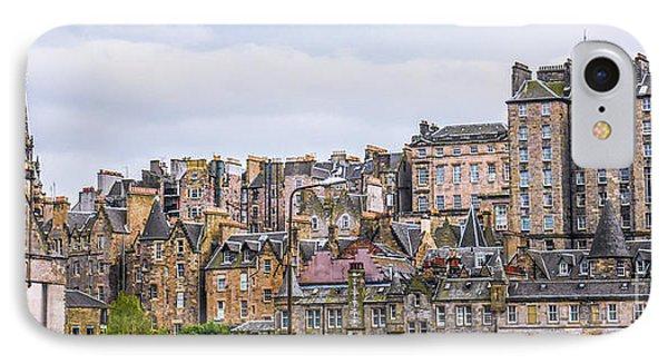 Hilly Skyline Of Edinburgh IPhone Case