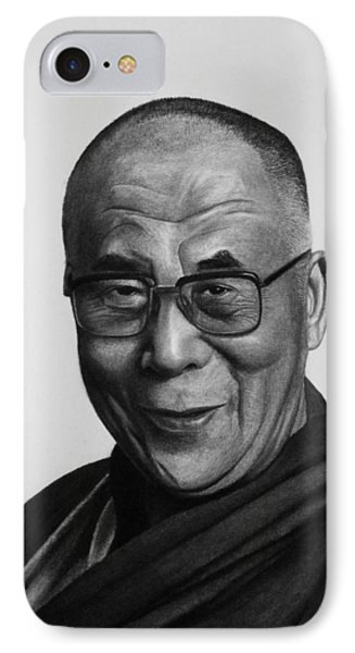 His Holiness The Dalai Lama IPhone Case