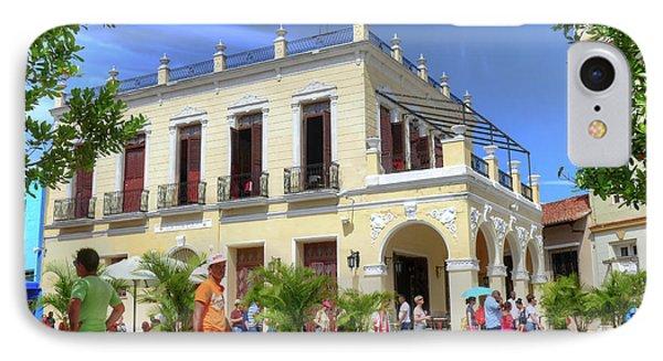 Historic Camaguey Cuba Prints Commercial Center 2 IPhone Case