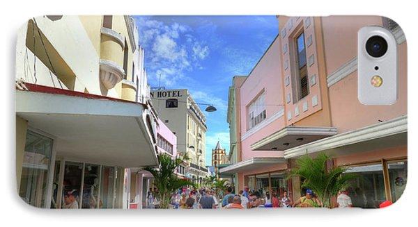 Historic Camaguey Cuba Prints Commercial Center IPhone Case