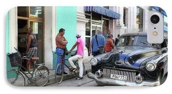Historic Camaguey Cuba Prints The Cars 2 IPhone Case