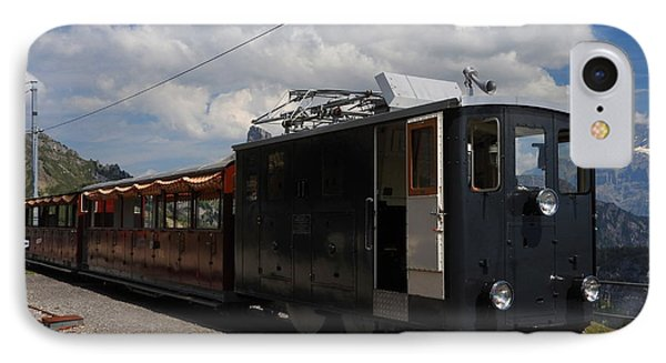 Historic Cogwheel Train  IPhone Case
