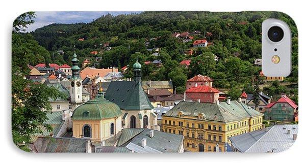 Historic Mining Town Banska Stiavnica, Slovakia IPhone Case