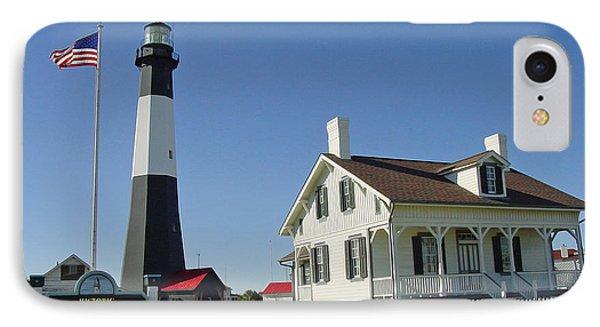 Historic Tybee Island Lighthouse II IPhone Case