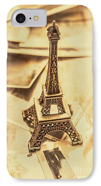 French iPhone 8 Case - Holiday Nostalgia In Vintage France by Jorgo Photography - Wall Art Gallery