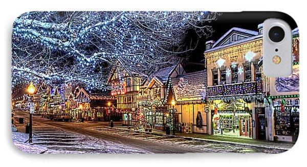 Holiday Village, Leavenworth, Wa IPhone Case