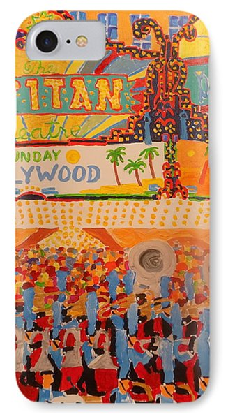 Hollywood Parade IPhone Case