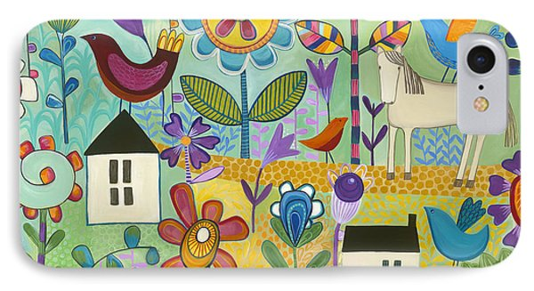 IPhone Case featuring the painting Home Sweet Home by Carla Bank