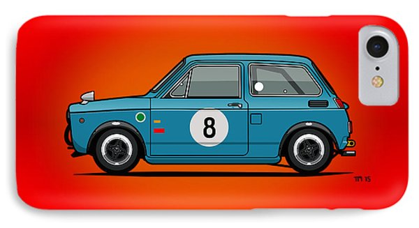 Honda N600 Blue Kei Race Car IPhone Case