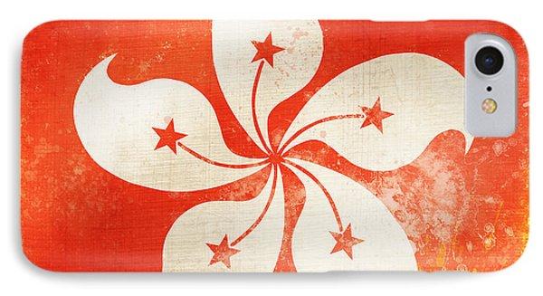 Hong Kong China Flag IPhone Case