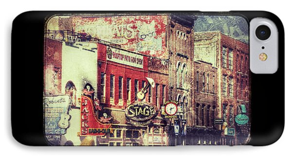 Honky Tonk Row - Nashville IPhone Case