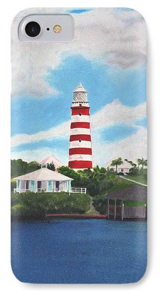 Hopetown Lighthouse Number Two IPhone Case
