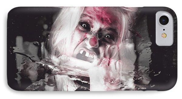 Horror Fast Food. Drive Thru Zombie Apocalypse IPhone Case