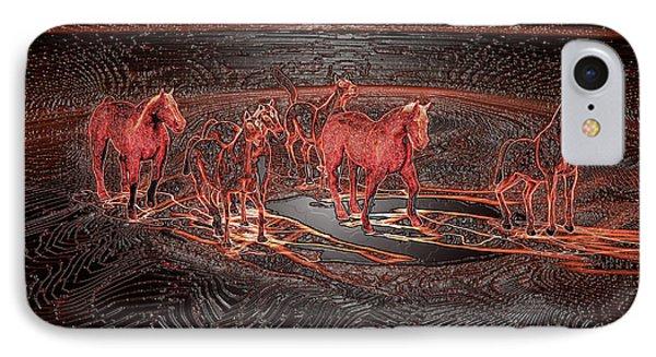 Horse Chestnut Pass IPhone Case