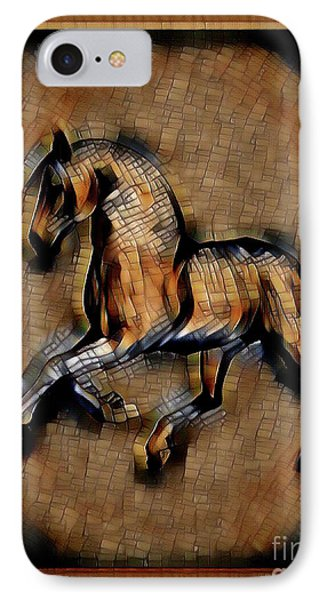 Horse Mosaic IPhone Case