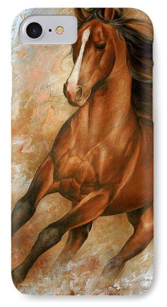 Horse iPhone 8 Case - Horse1 by Arthur Braginsky