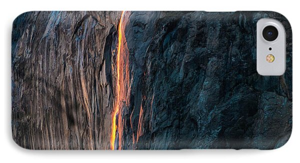 Horsetail Water Fall Glow IPhone Case