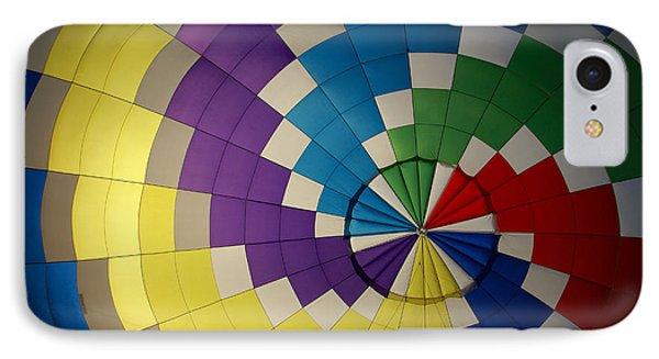 Hot Air Balloon Silhouette IPhone Case