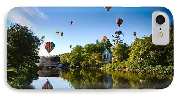 Hot Air Balloons In Queechee 2015 IPhone Case
