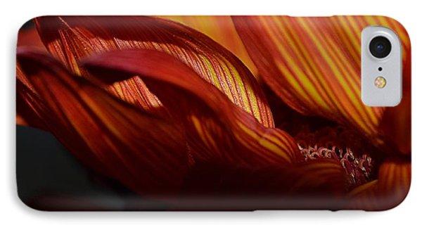 Hot Orange Sunflower IPhone Case