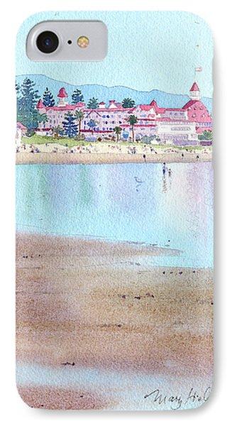 Hotel Del Coronado Low Tide IPhone Case