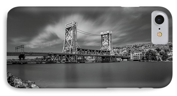 Houghton Portage Bridge IPhone Case