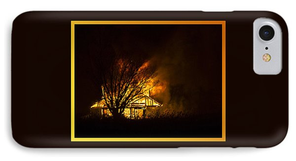 House Fire IPhone Case