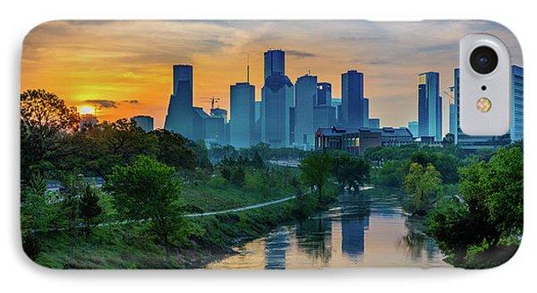 Houston Dawn IPhone Case