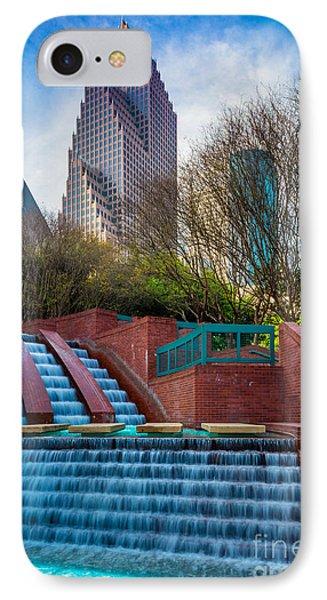 Houston Fountain IPhone Case