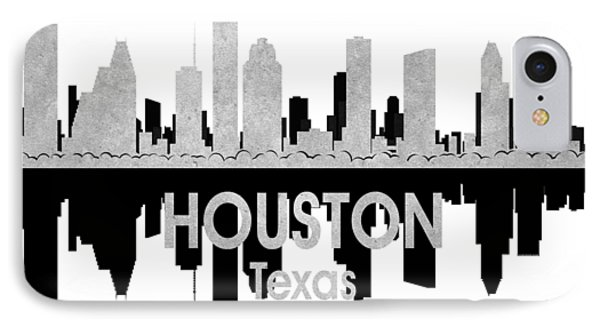 Houston Tx 4 Squared IPhone Case