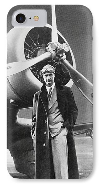 Howard Hughes, Us Aviation Pioneer IPhone Case