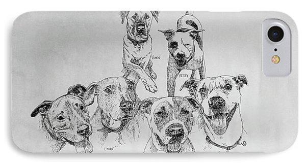 Humane Society Gang IPhone Case
