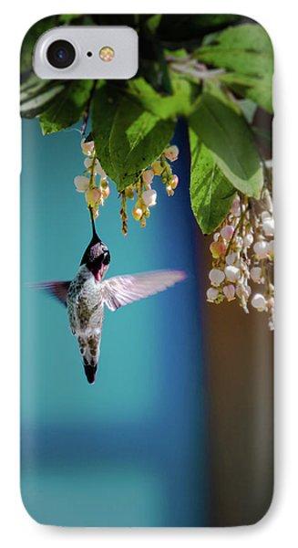 Hummingbird Moment IPhone Case